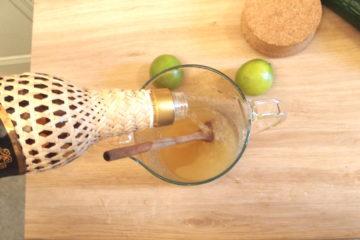 recette typique brésilienne : caipirinhia