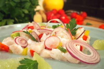 recette de cuisine d'amérique latine ceviche