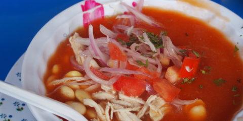Ceviche végétarien recette typique equateur