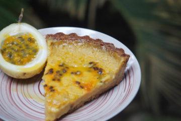 tarte fruit de la passion recette dessert sud americaine