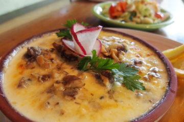 Gnocchis de patate douce typique d'equateur