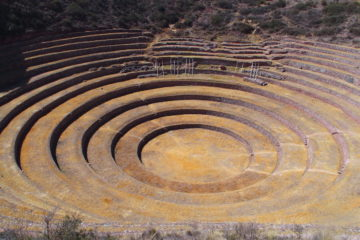 recette de cuisine sud américaine : site de Moray, cusco
