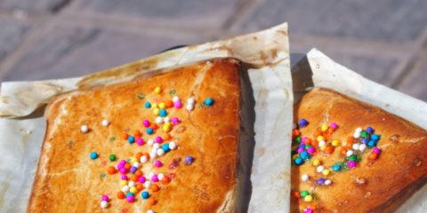 spécialité typique péruvienne : empanadas dulce