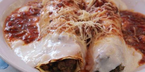 plat typique argentin : canelones