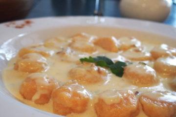 recette de cuisine de plat sud américain : gnocchis de potion